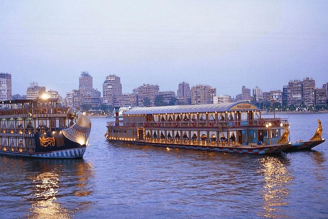 River Nile Dinner Cruise on Nile Pharaohs From Cairo